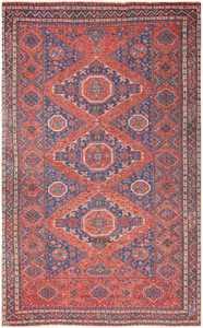 Tribal Antique Caucasian Soumak Rug 50365 Nazmiyal