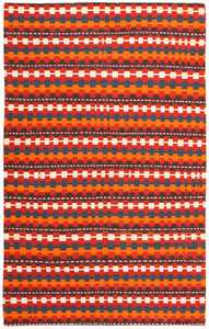Vintage Turkish Kilim Rug 50382 Detail/Large View