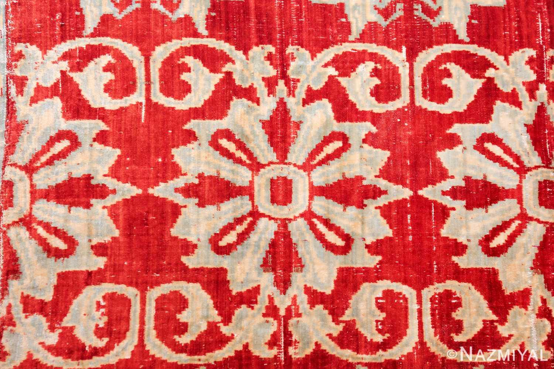 antique 17th 18th century mughal velvet textile 40596 part Nazmiyal