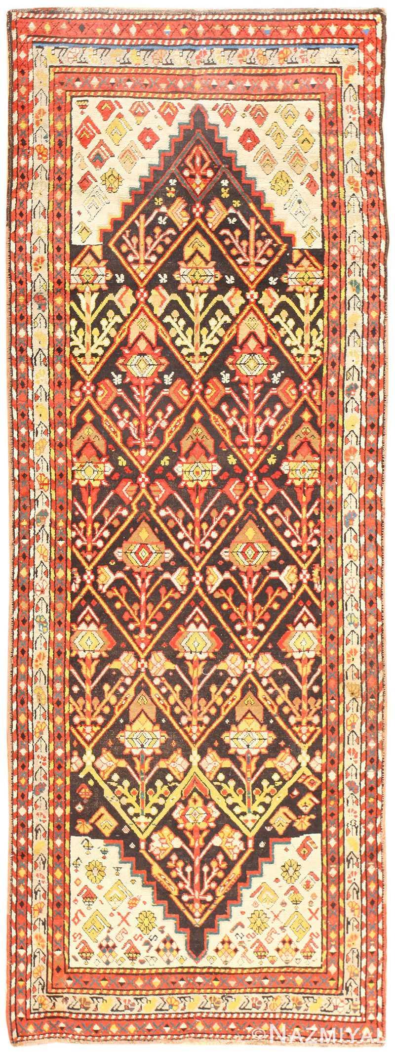 Antique Caucasian Kazak Rug 50424 Detail/Large View