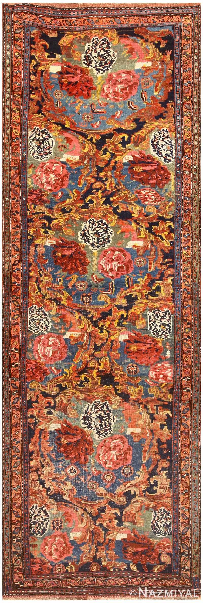 Antique Persian Bidjar Rug 48630 Detail/Large View