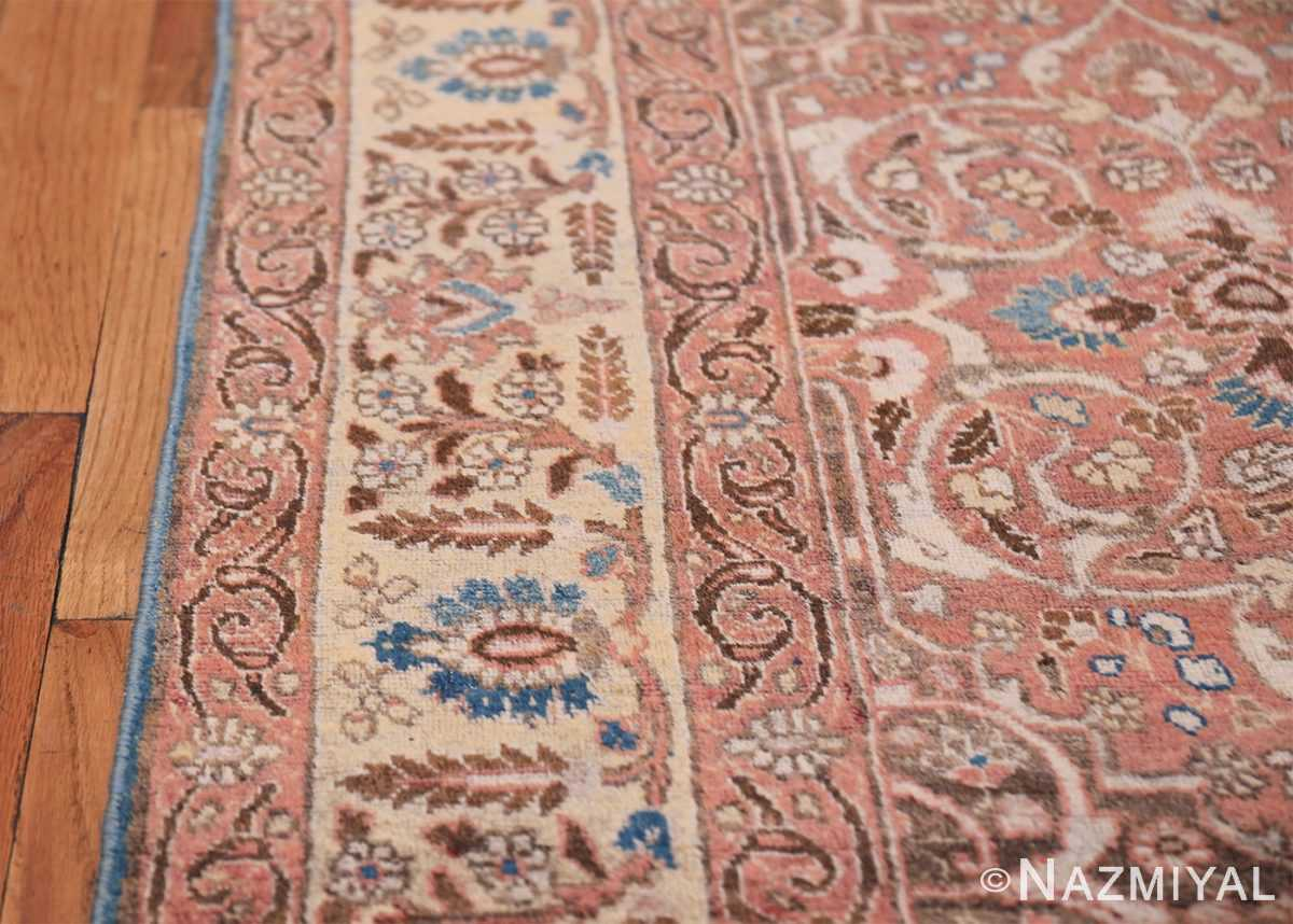 antique persian floral tabriz rug 50363 border Nazmiyal