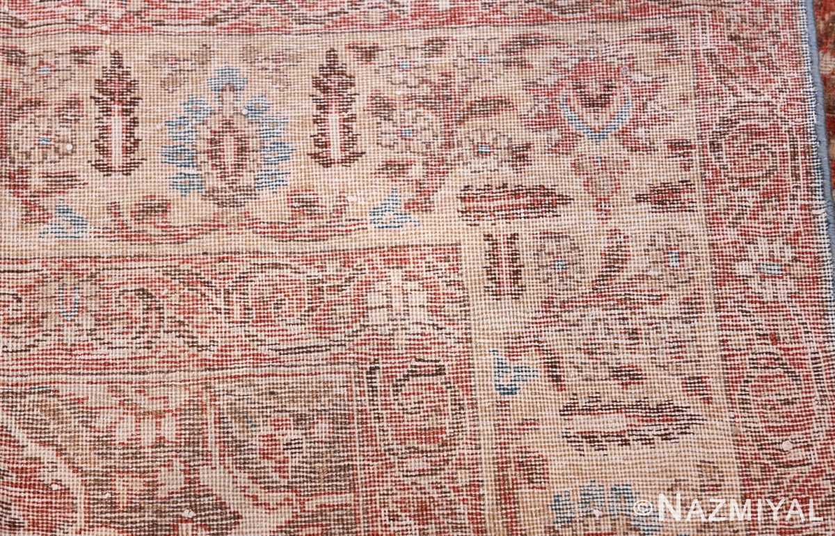 antique persian floral tabriz rug 50363 knots Nazmiyal