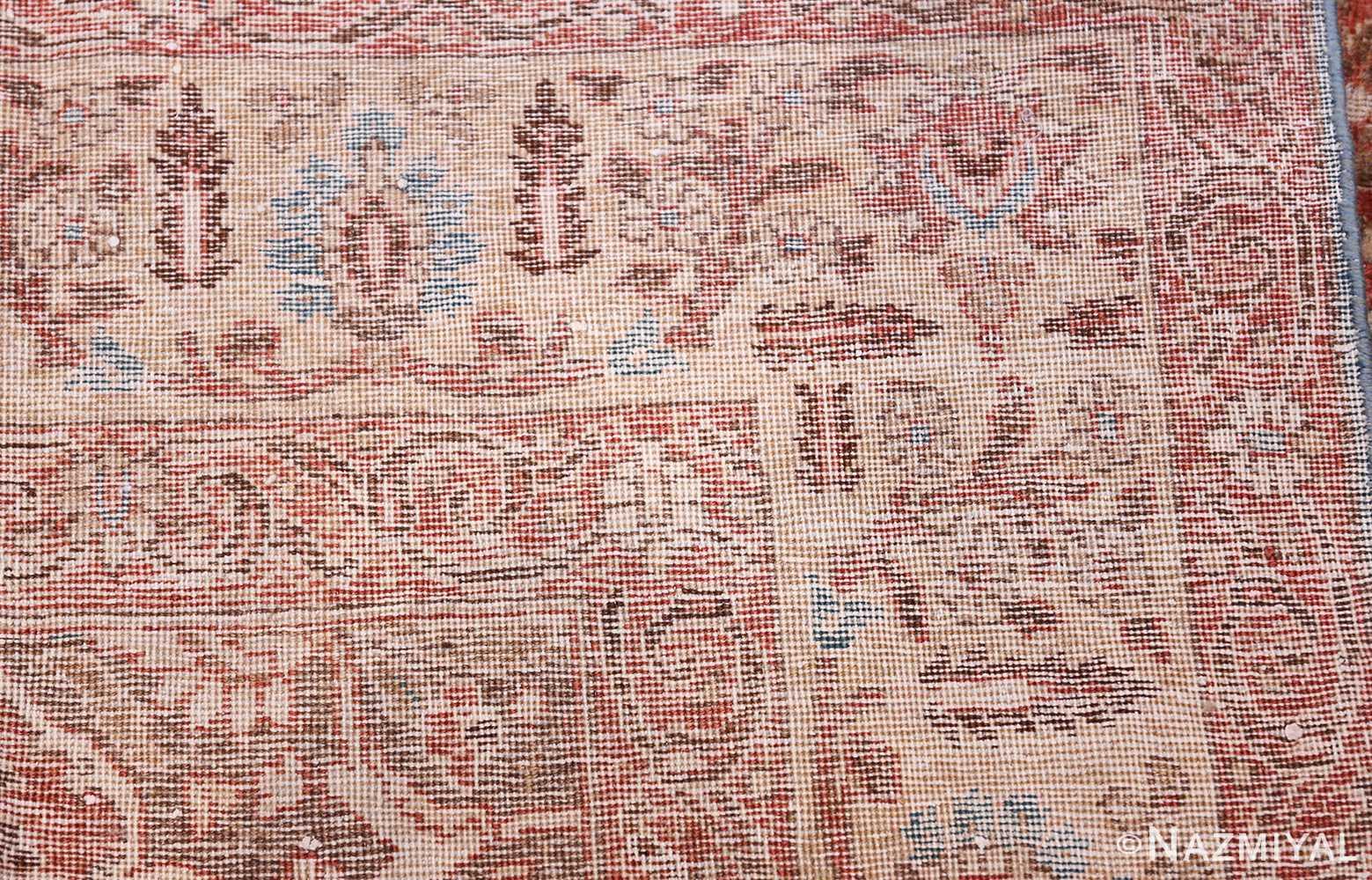 antique persian floral tabriz rug 50363 knots Nazmiyal