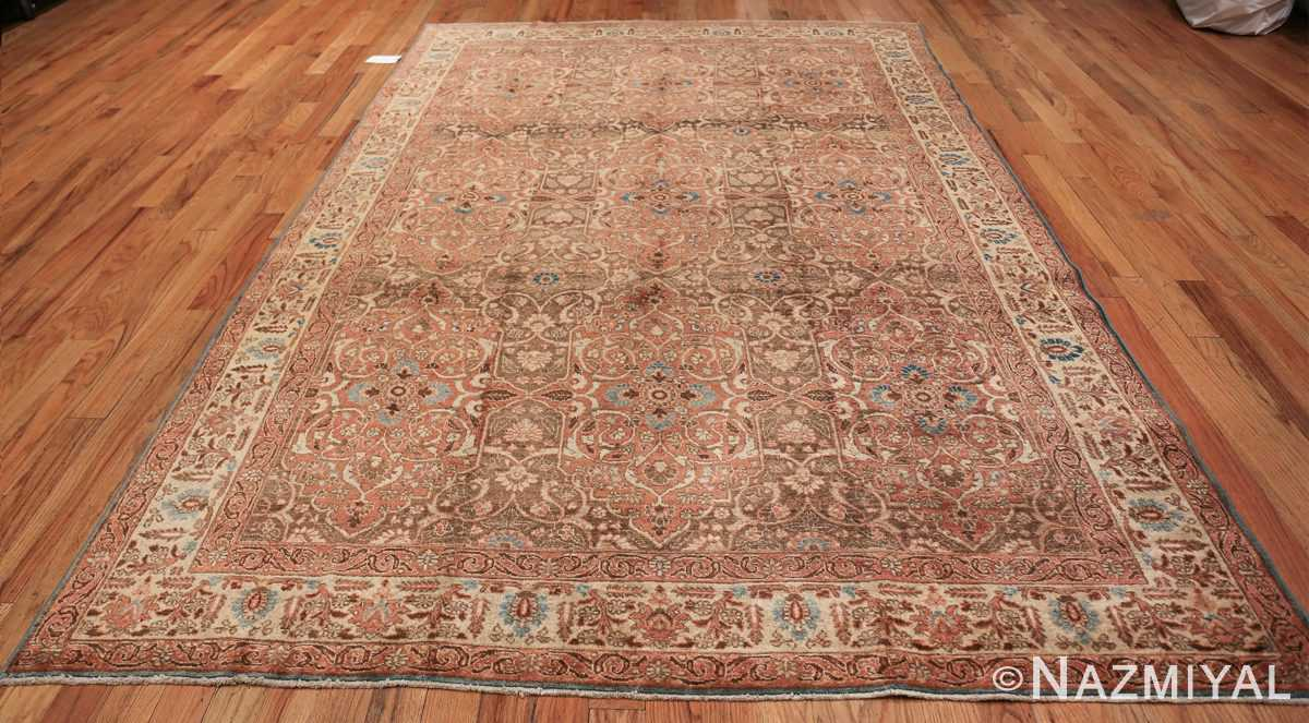 antique persian floral tabriz rug 50363 whole Nazmiyal