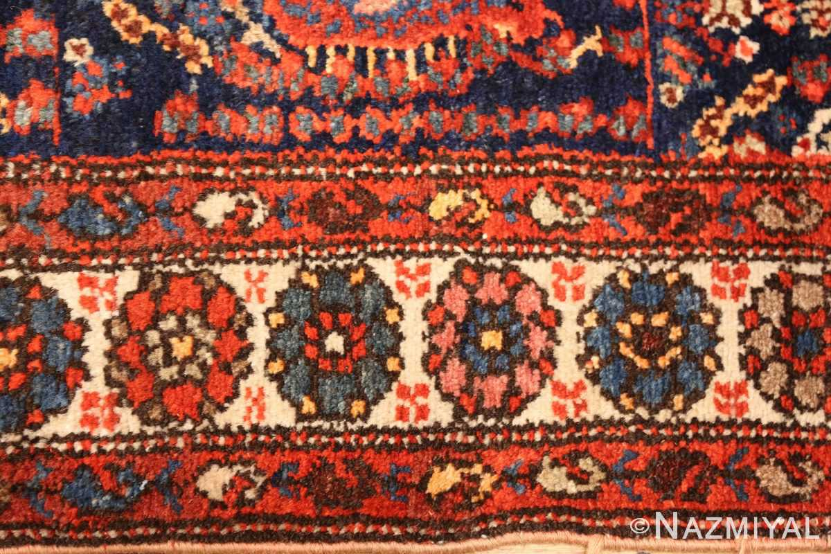 antique persian malayer hallway runner rug 50408 border Nazmiyal