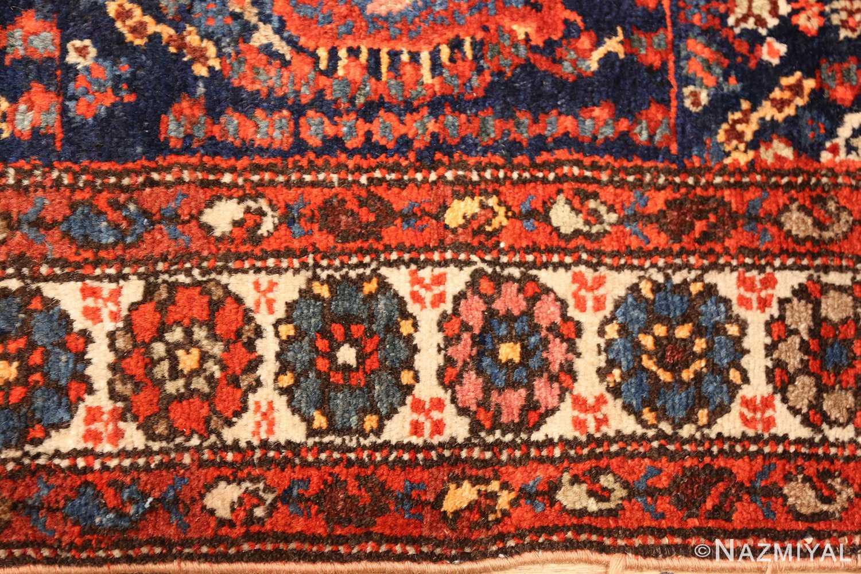 antique persian malayer hallway runner rug 50408 border Nazmiyal