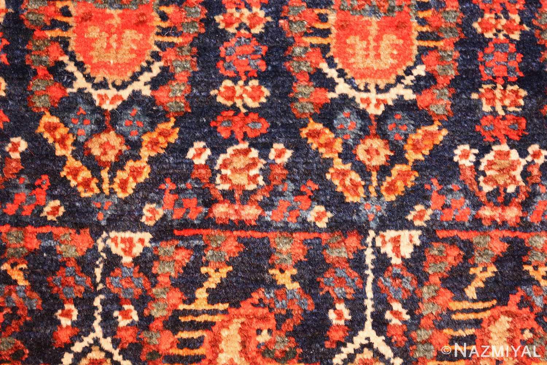 antique persian malayer hallway runner rug 50408 closeup Nazmiyal