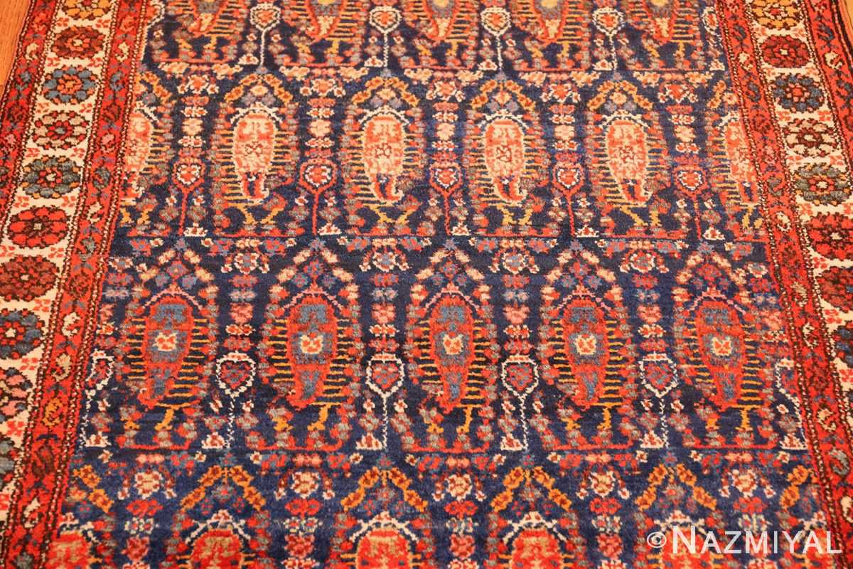 antique persian malayer hallway runner rug 50408 field Nazmiyal