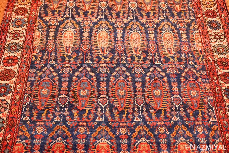 antique persian malayer hallway runner rug 50408 field Nazmiyal