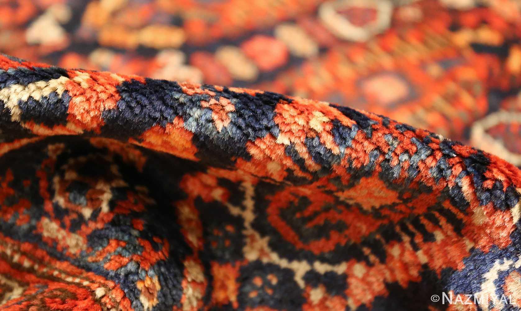 antique persian malayer hallway runner rug 50408 pile Nazmiyal