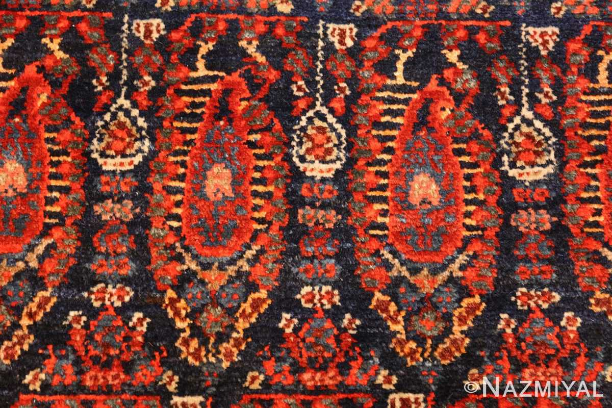 antique persian malayer hallway runner rug 50408 red Nazmiyal