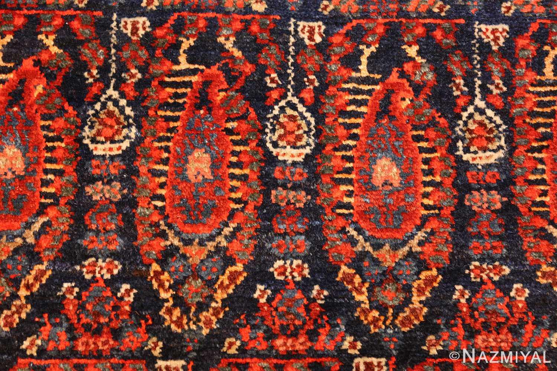 antique persian malayer hallway runner rug 50408 red Nazmiyal