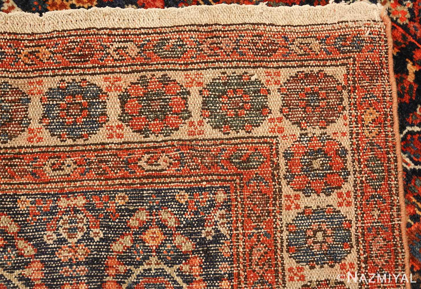 antique persian malayer hallway runner rug 50408 weave Nazmiyal