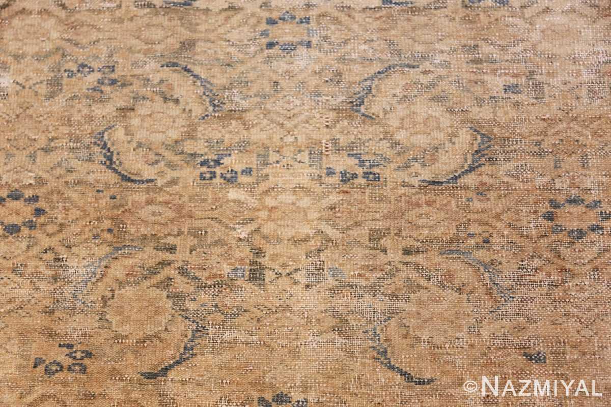 antique persian malayer shabby chic rug 50358 closeup Nazmiyal