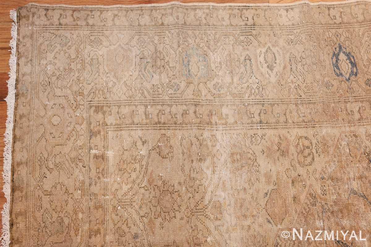 antique persian malayer shabby chic rug 50358 corner Nazmiyal