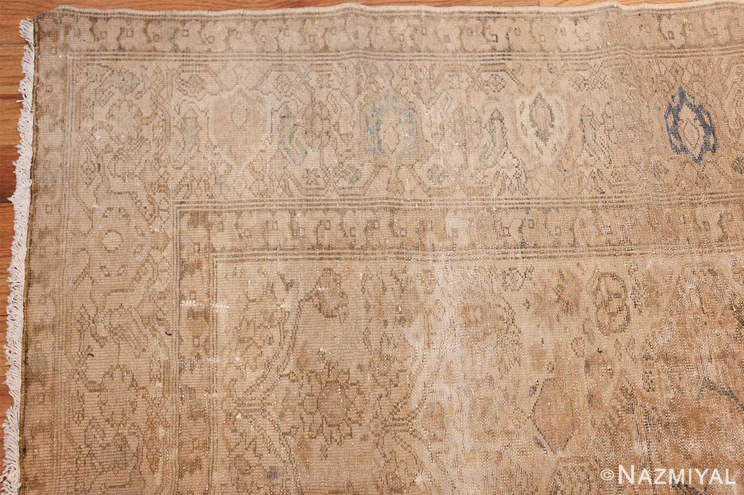 antique persian malayer shabby chic rug 50358 corner Nazmiyal