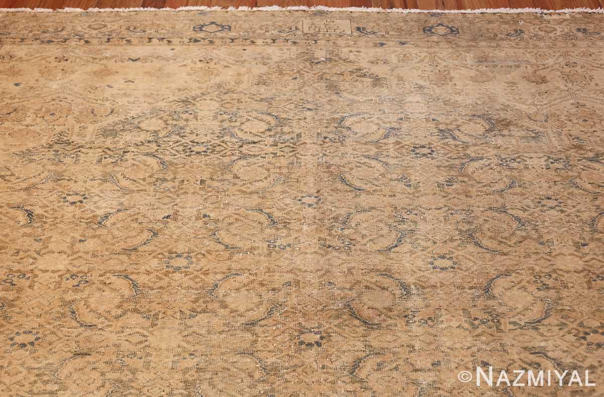 antique persian malayer shabby chic rug 50358 top Nazmiyal