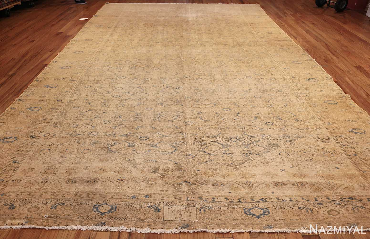 antique persian malayer shabby chic rug 50358 whole Nazmiyal