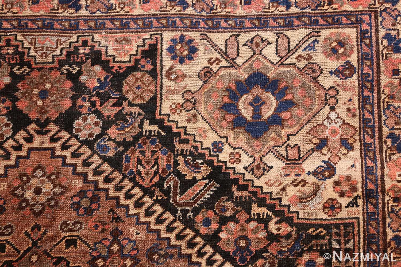 antique persian qashqai gallery size rug 50392 design Nazmiyal