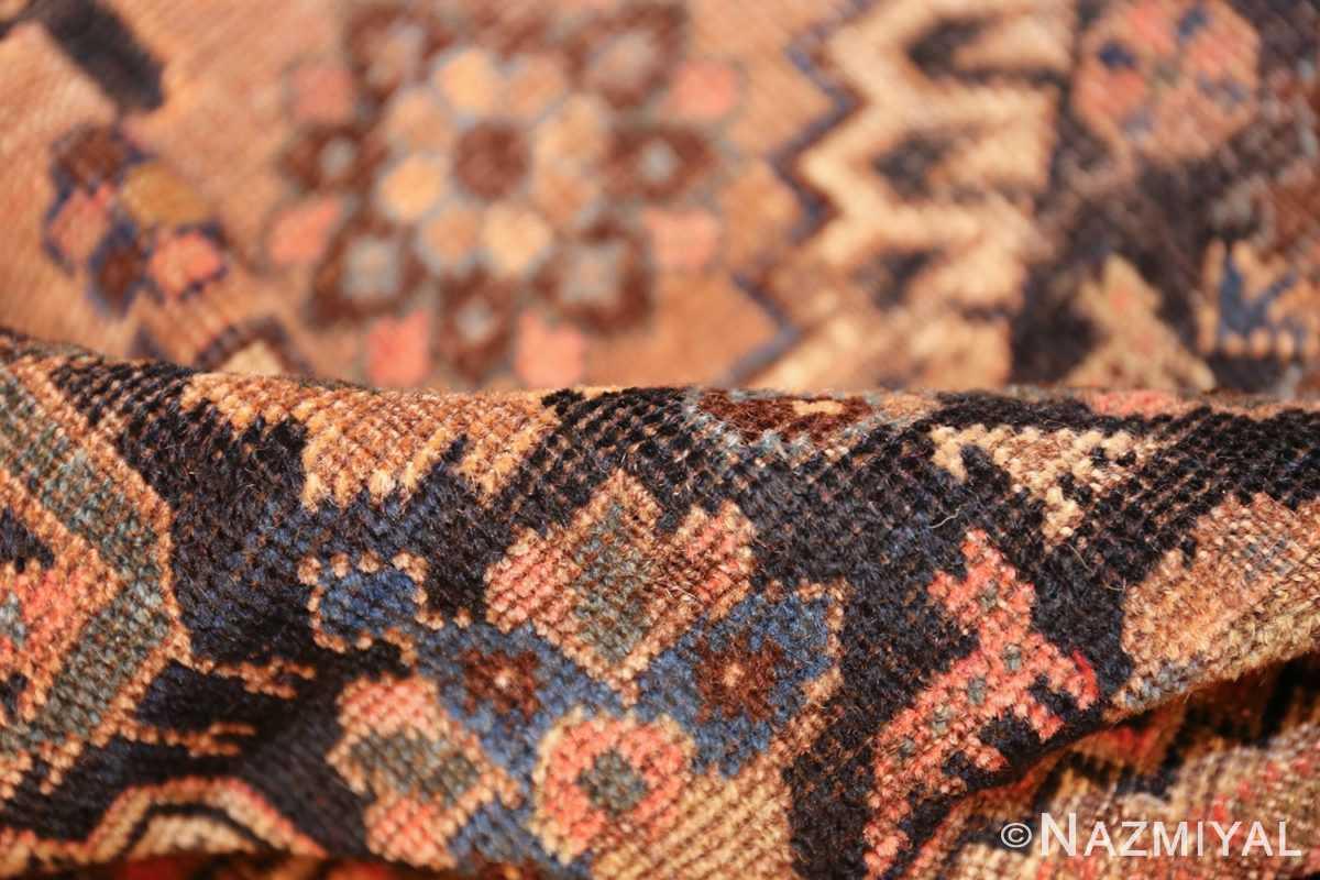 antique persian qashqai gallery size rug 50392 pile Nazmiyal