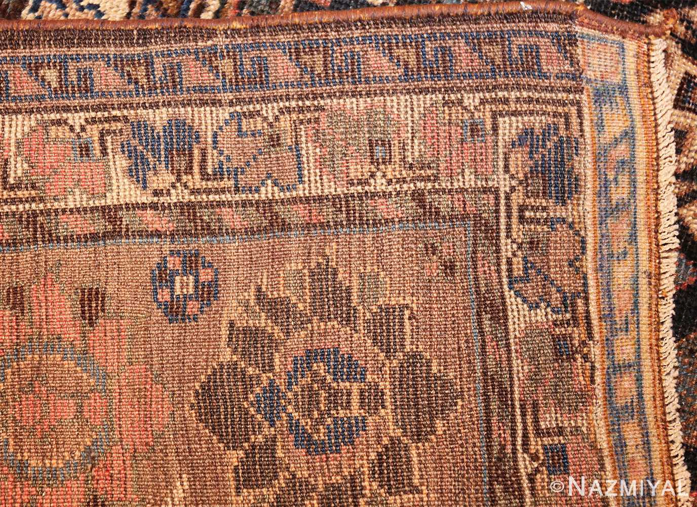 antique persian qashqai gallery size rug 50392 weave Nazmiyal