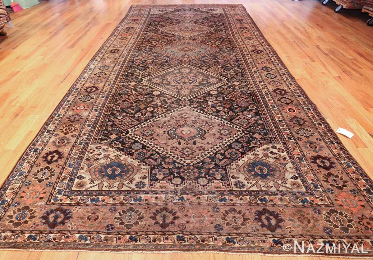 antique persian qashqai gallery size rug 50392 whole Nazmiyal
