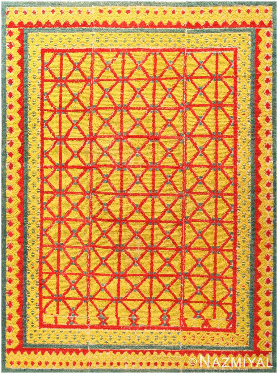 Antique Spanish Alpujarra Rug 48661 Nazmiyal