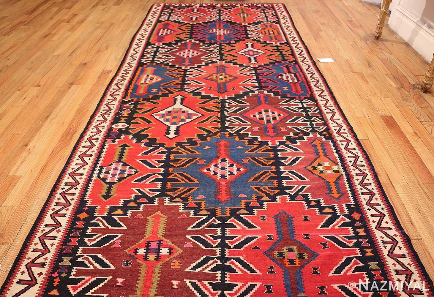 antique tribal caucasian kuba kilim rug 50421 whole Nazmiyal