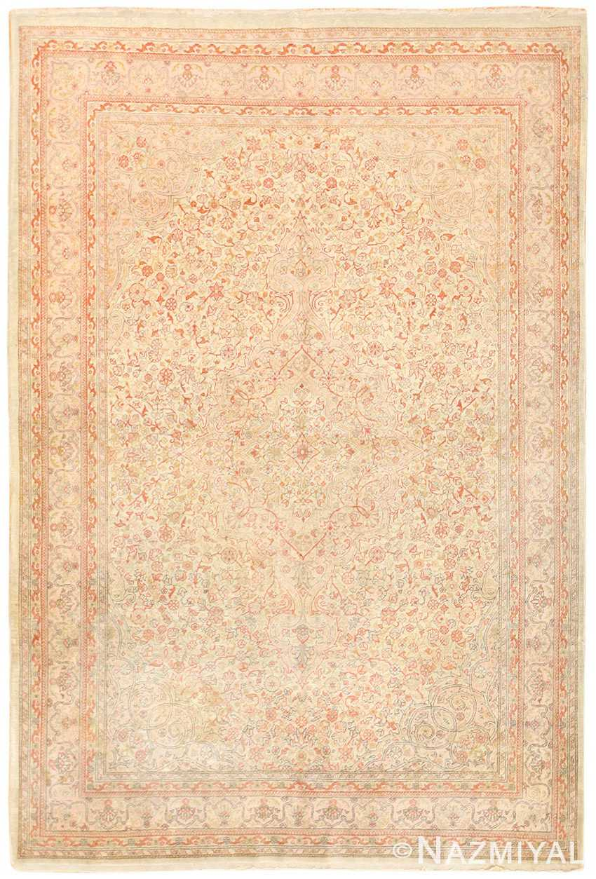 Antique Turkish Floral Sivas Rug 50400 Nazmiyal