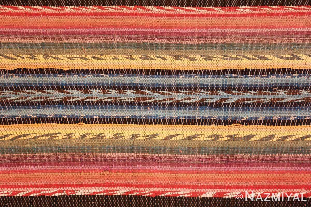 Background Antique America rag rug 48669 by Nazmiyal