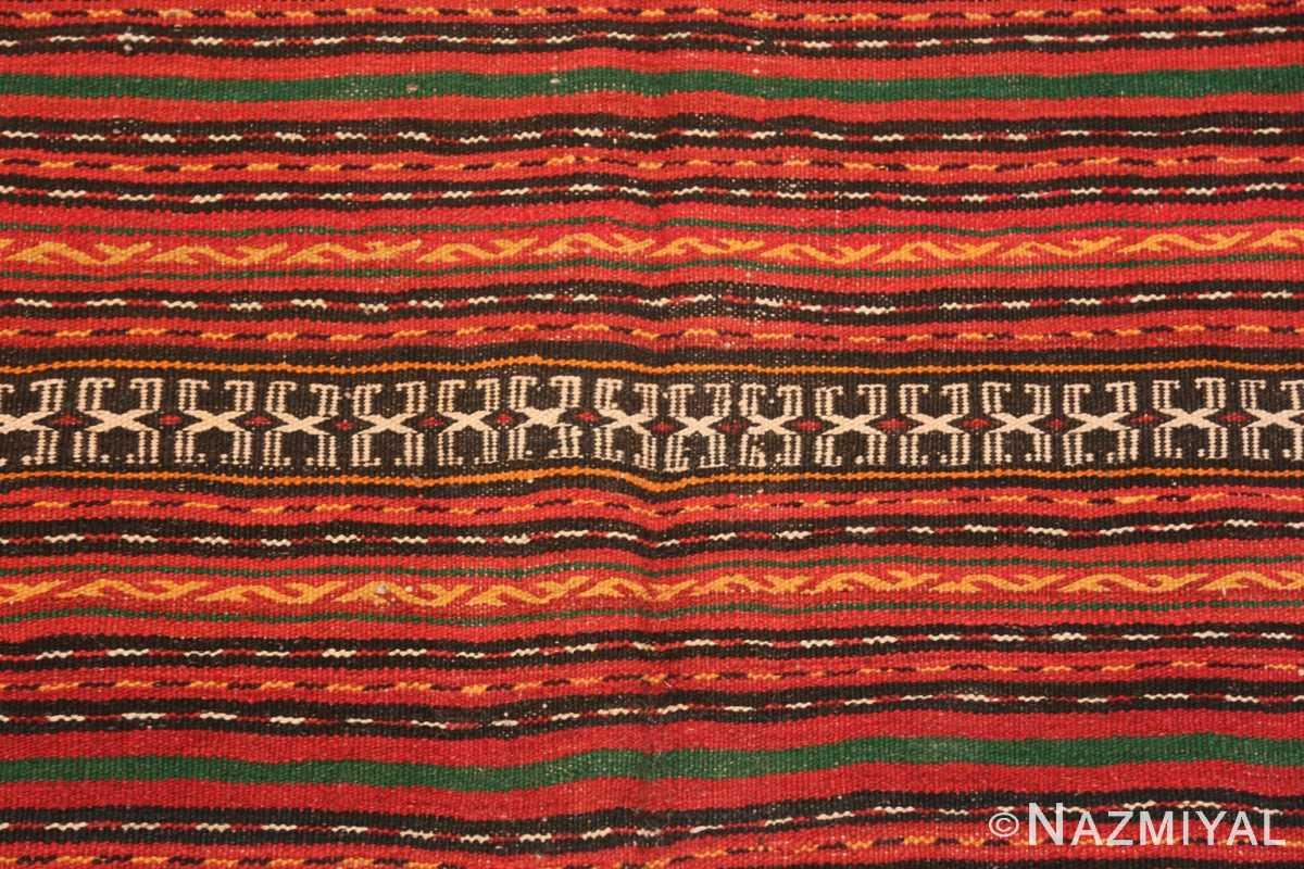 Background Vintage tribal Turkish Kilim rug 50383 by Nazmiyal