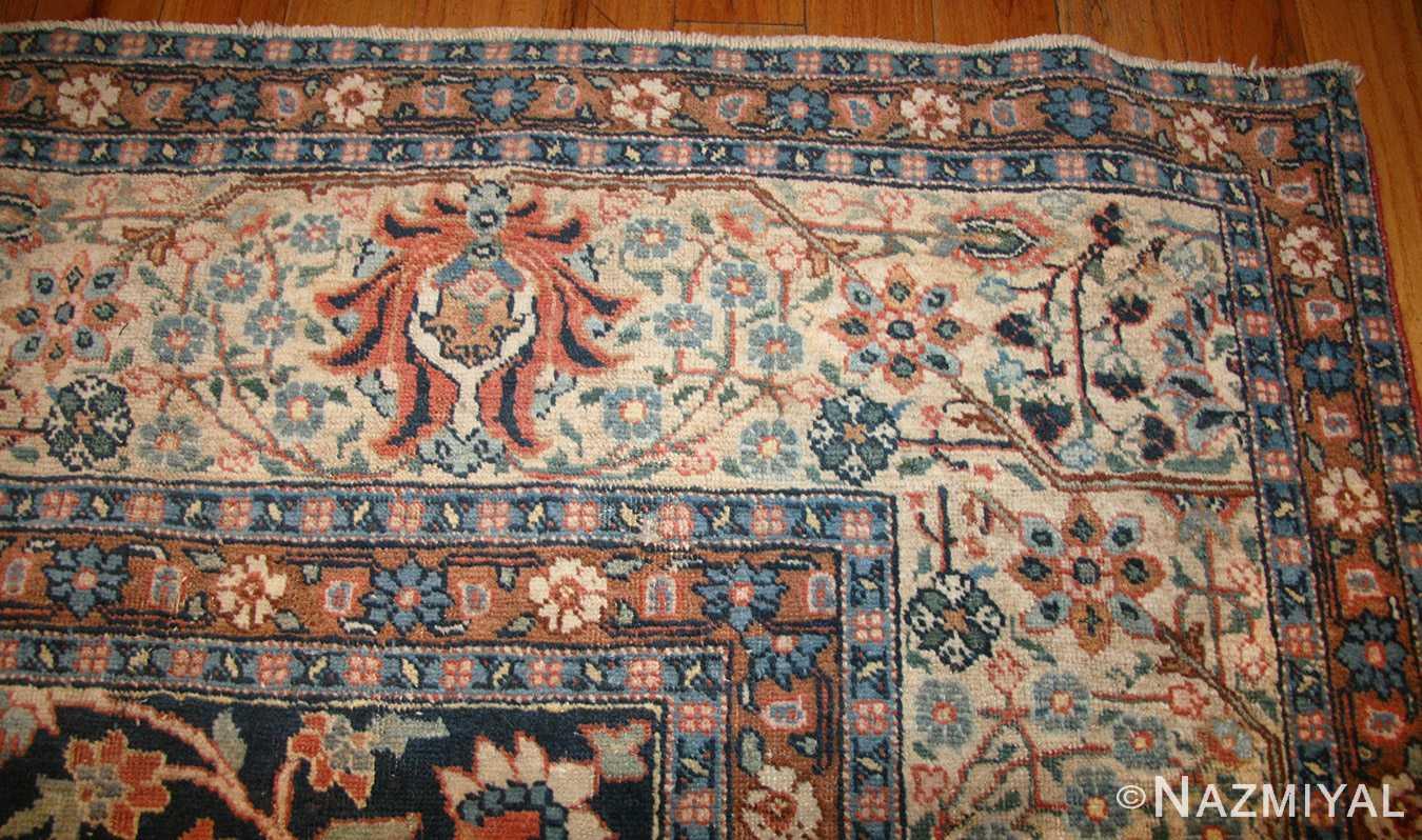 beautiful shabby chic antique persian tabriz rug 47294 border nazmiyal