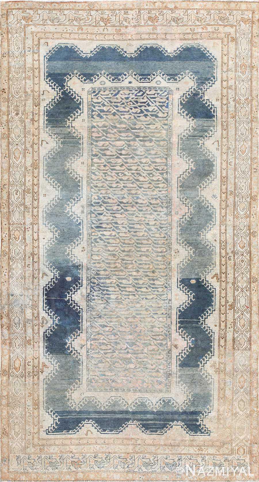 Beautiful Tribal Antique Persian Malayer Rug 50214 Nazmiyal