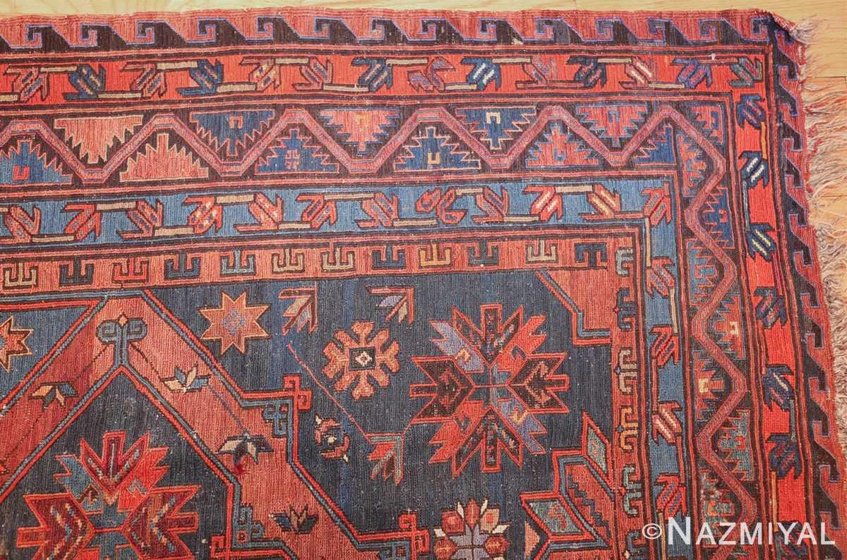 caucasian antique soumak rug 50361 corner Nazmiyal