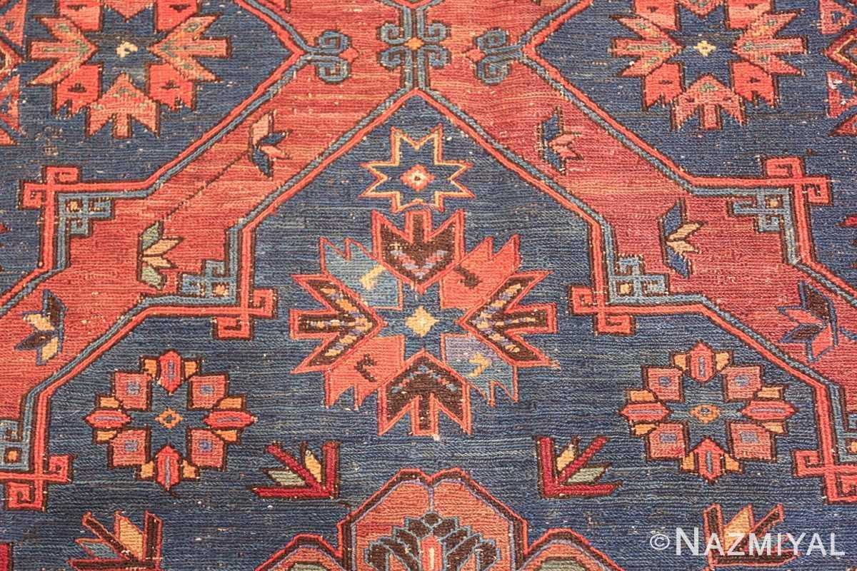caucasian antique soumak rug 50361 design Nazmiyal