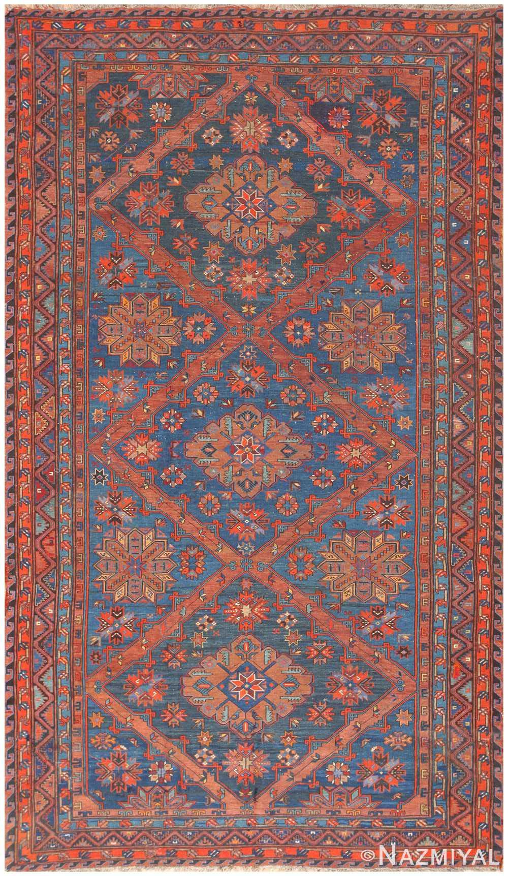 Caucasian Antique Soumak Rug 50361 By