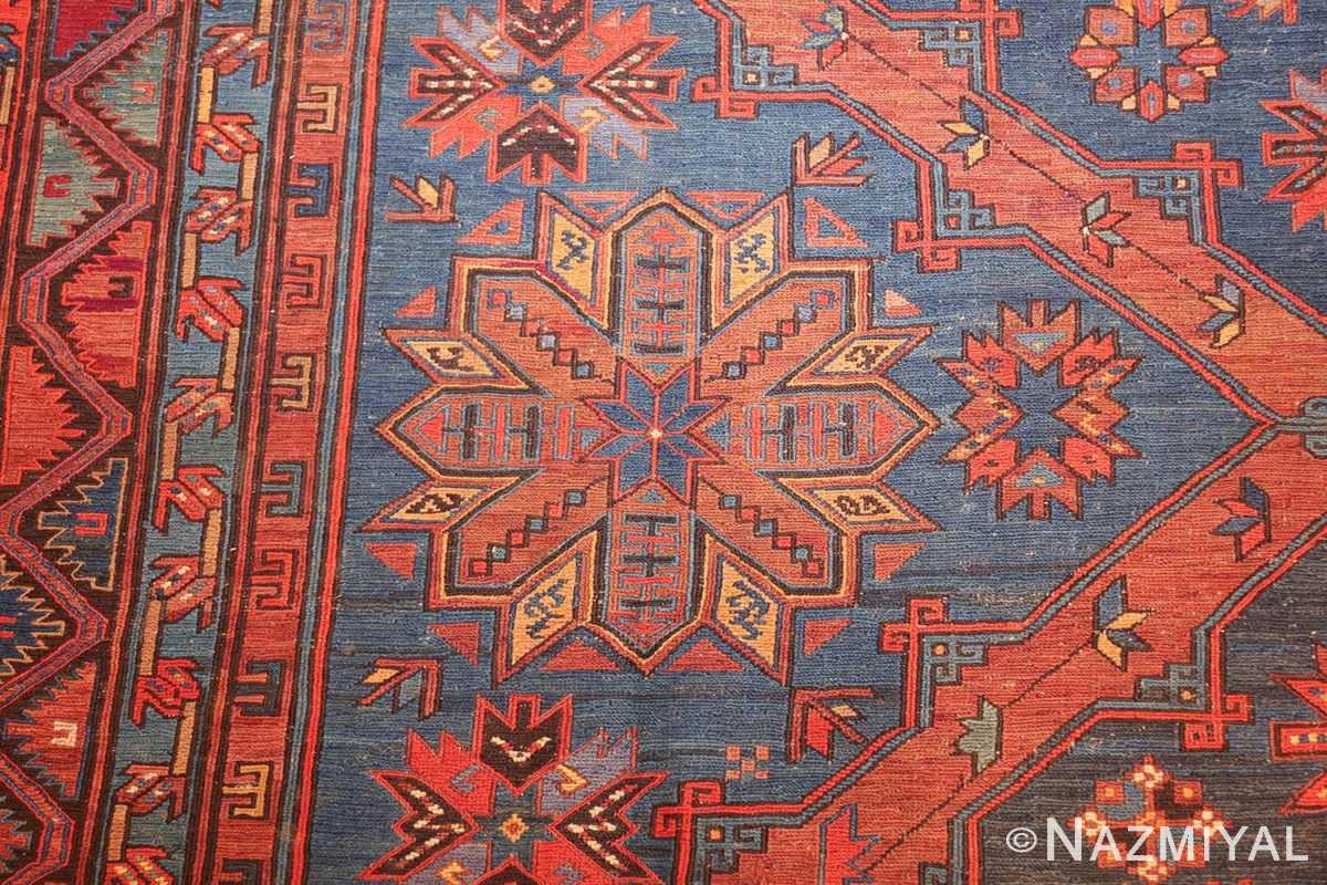 caucasian antique soumak rug 50361 side Nazmiyal