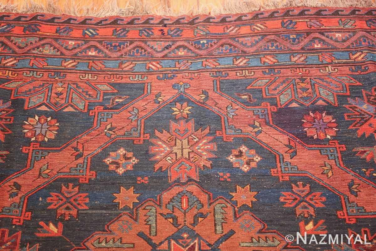 caucasian antique soumak rug 50361 top Nazmiyal