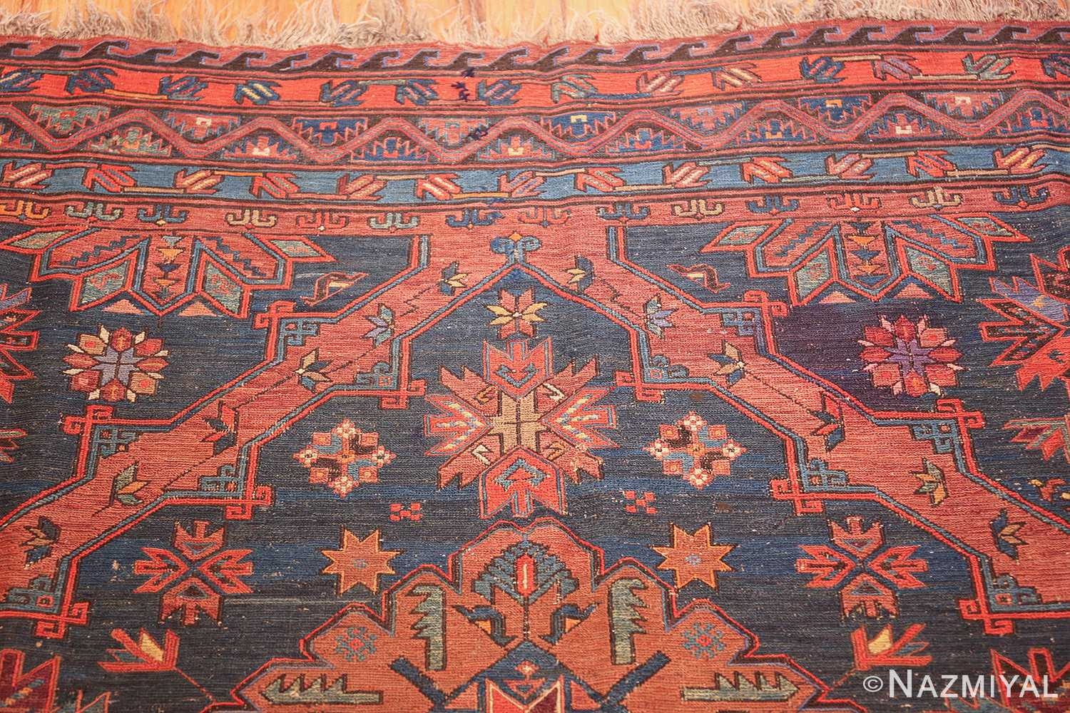 caucasian antique soumak rug 50361 top Nazmiyal