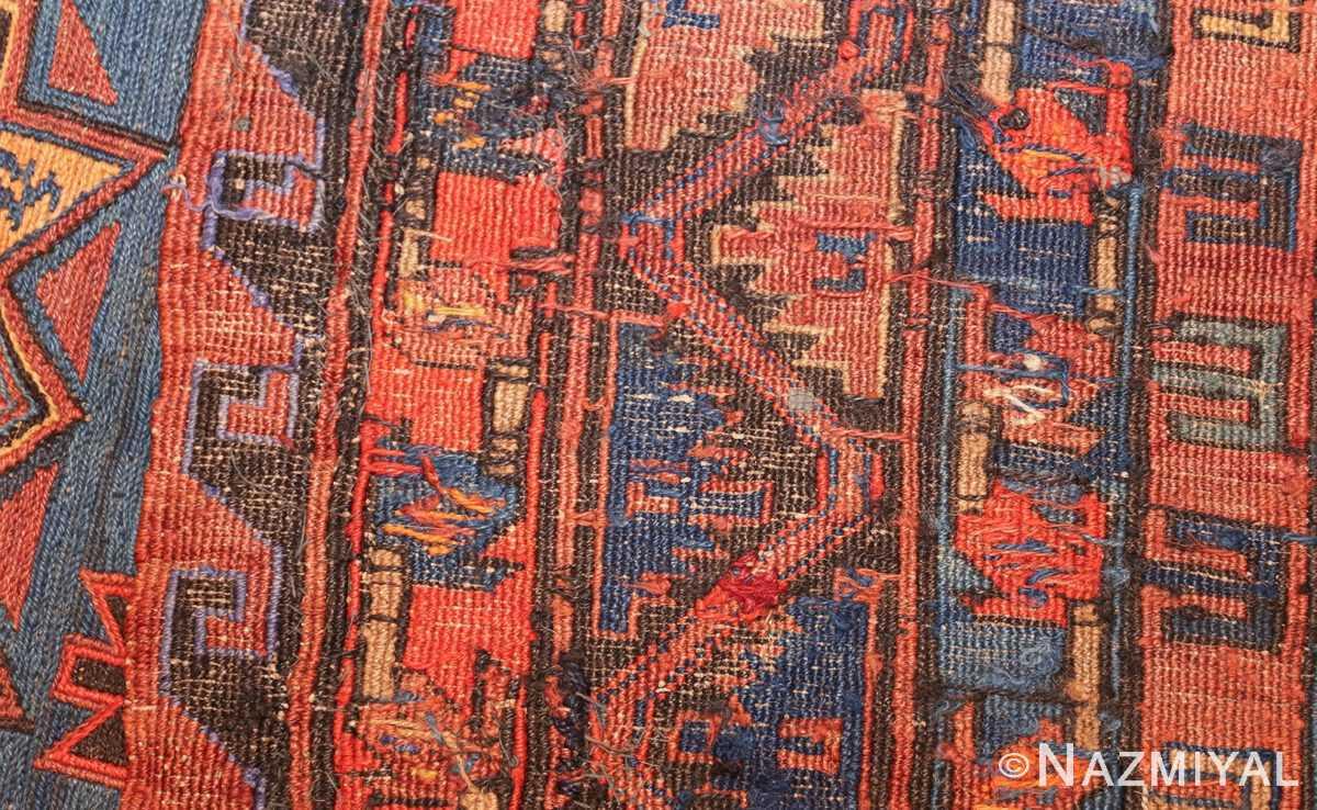 caucasian antique soumak rug 50361 weave Nazmiyal