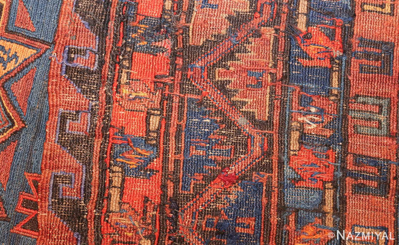caucasian antique soumak rug 50361 weave Nazmiyal