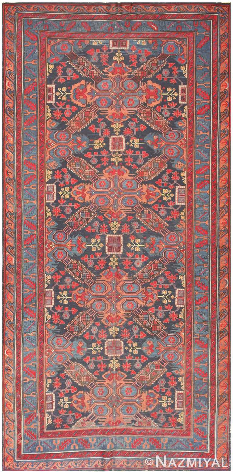 Caucasian Antique Soumak Rug 50371 Nazmiyal