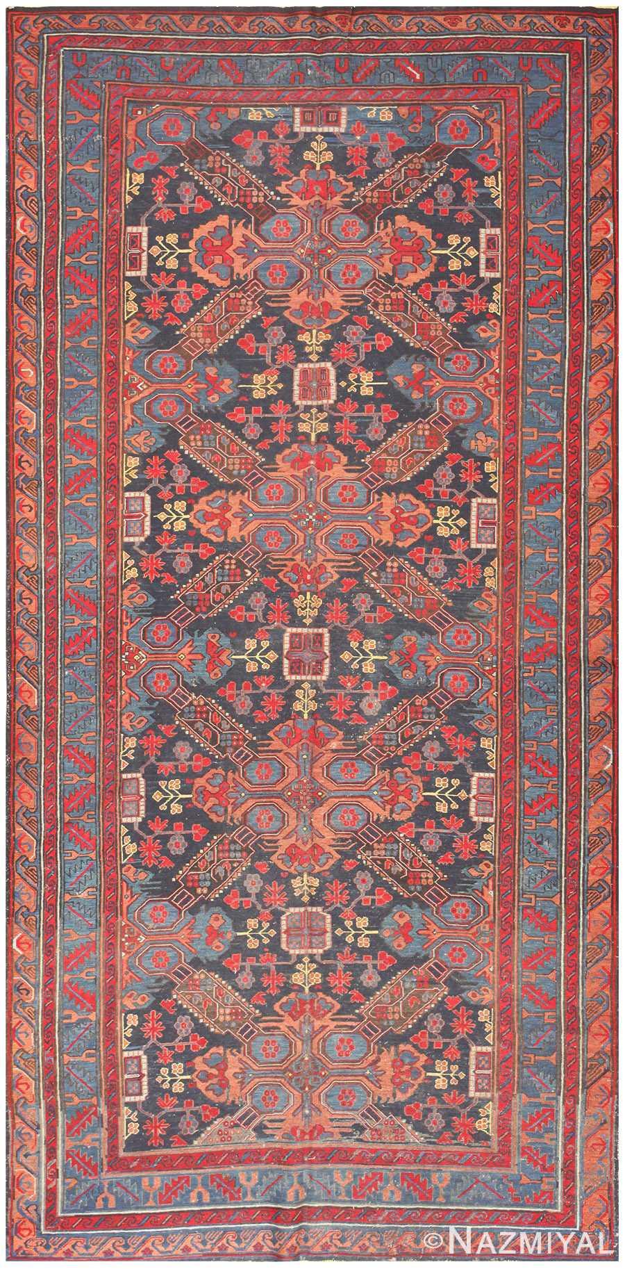 Caucasian Antique Soumak Rug 50371 Nazmiyal