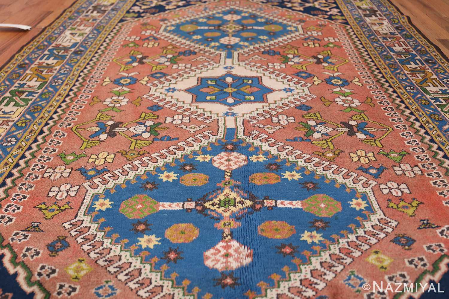 Colorful Vintage Persian Kurdish Rug 50432 By Nazmiyal