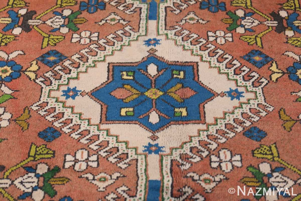 Colorful Vintage Persian Kurdish Rug 50432 Middle Part Nazmiyal
