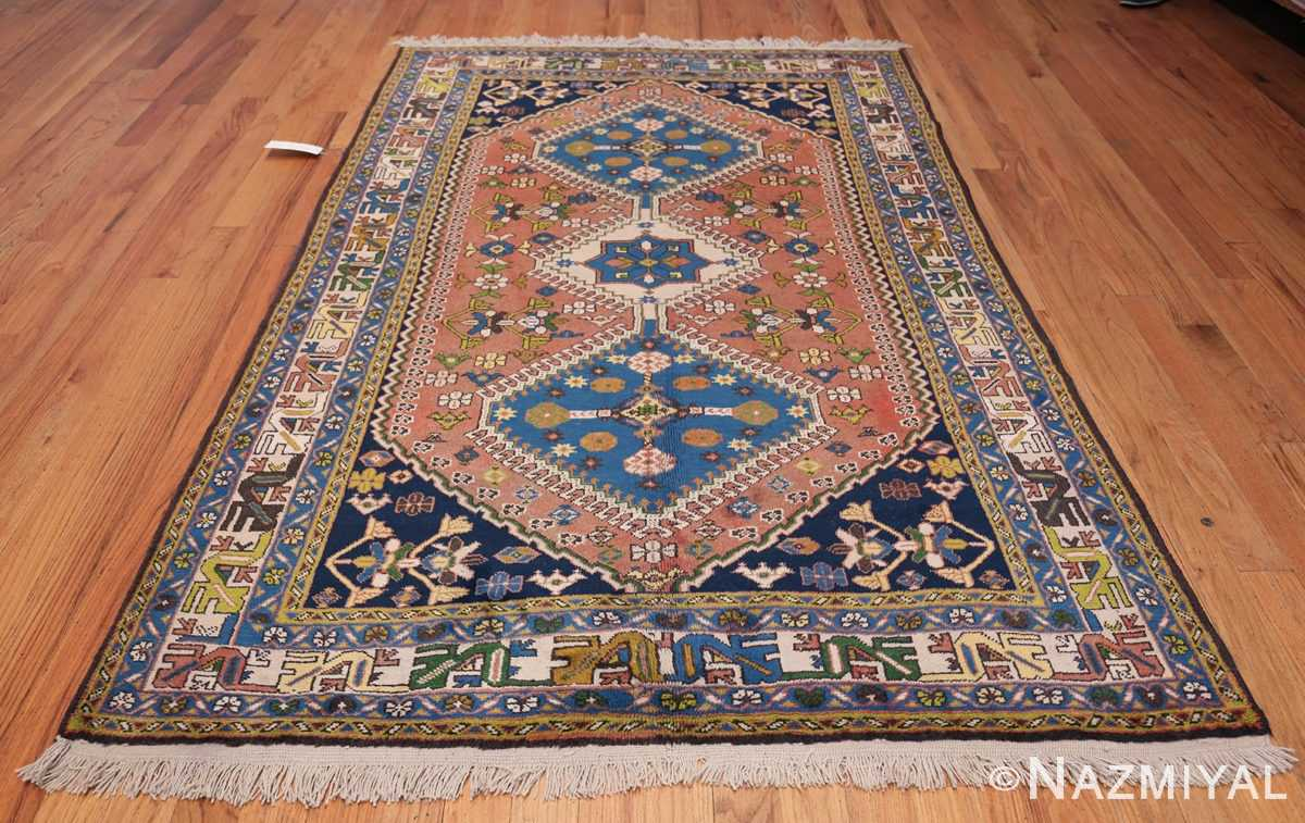 Colorful Vintage Persian Kurdish Rug 50432 Whole Design Nazmiyal