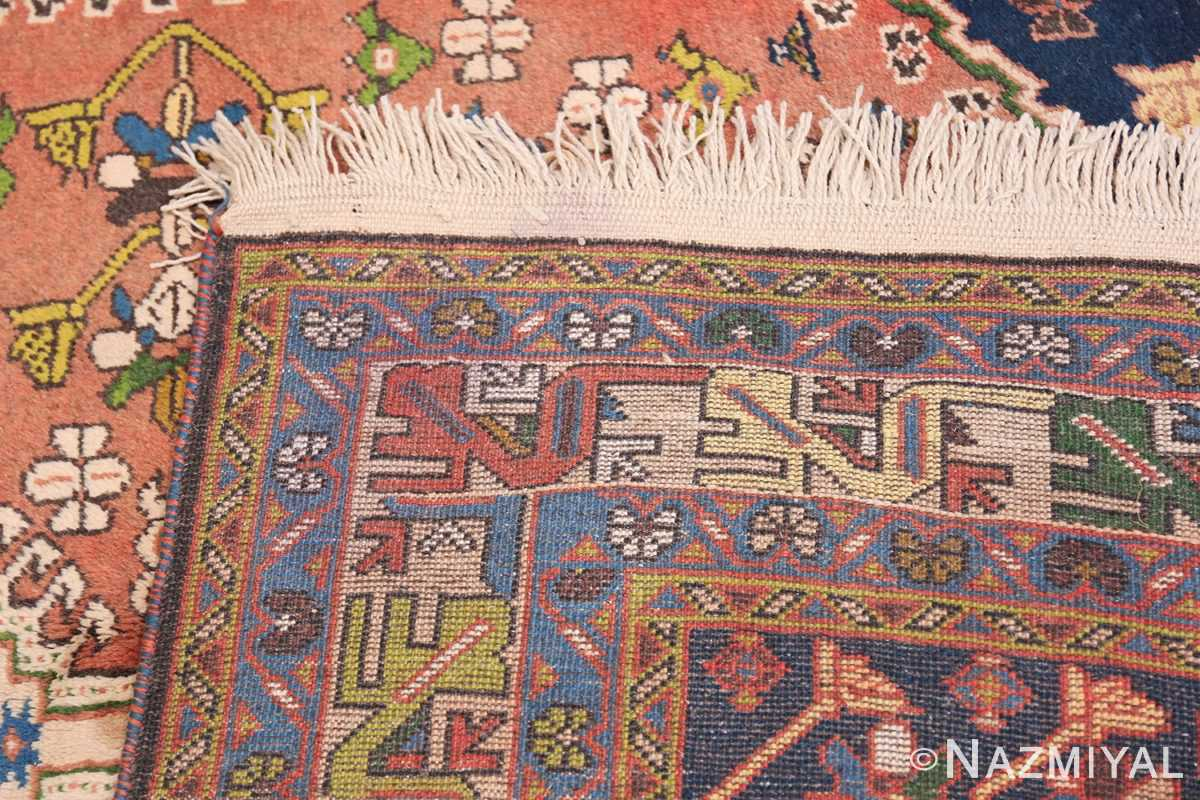 Colorful Vintage Persian Kurdish Rug 50432 Woven Knots Nazmiyal