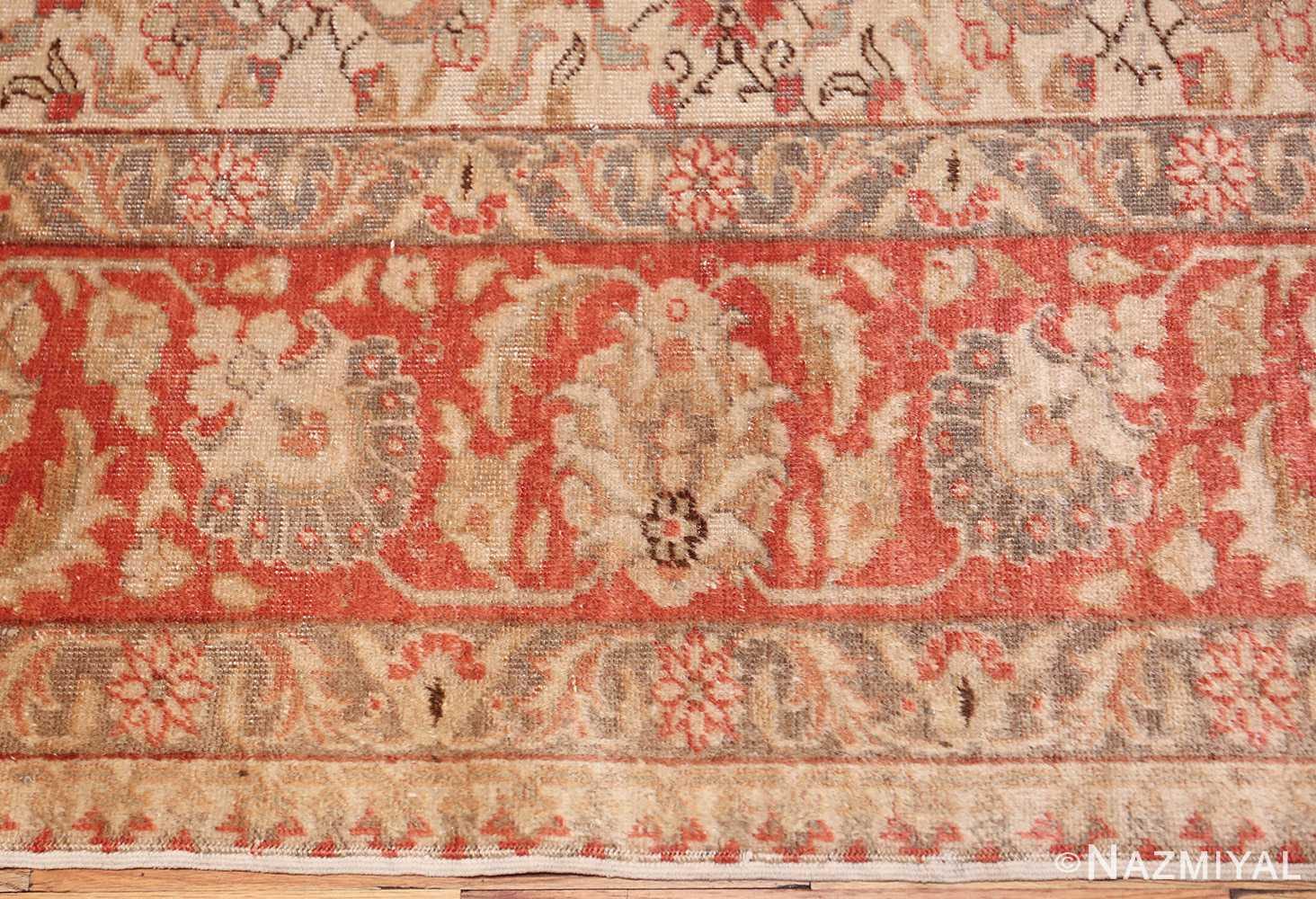 decorative vintage turkish sivas rug 50390 border Nazmiyal