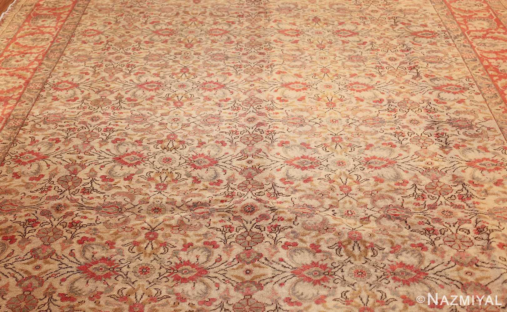 decorative vintage turkish sivas rug 50390 center Nazmiyal